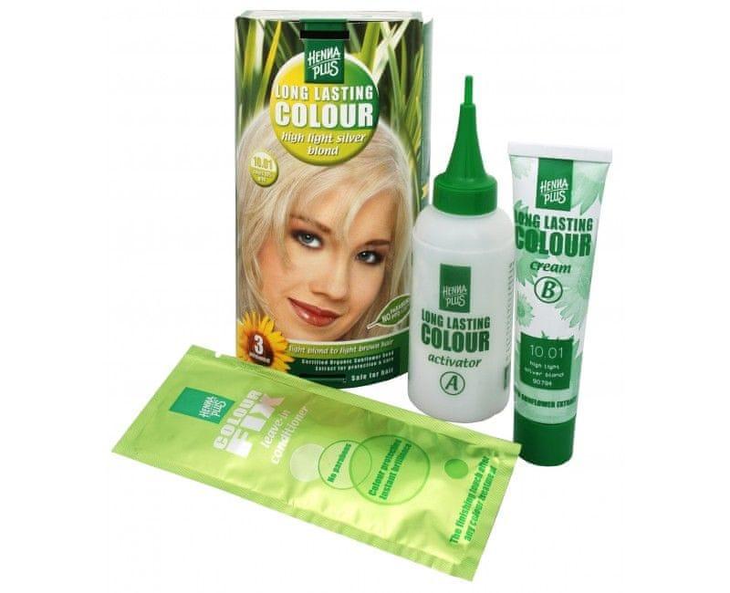 Hennaplus Dlouhotrvajici Barva Na Vlasy 100 Ml Long Lasting Colour