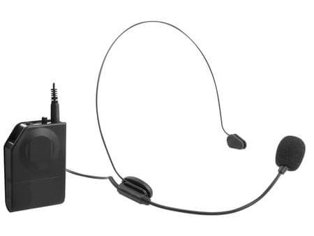 Trevi brezžični naglavni mikrofon EM 408-R