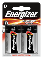 Energizer Energizer Alkaline Power D 2 pack EB006