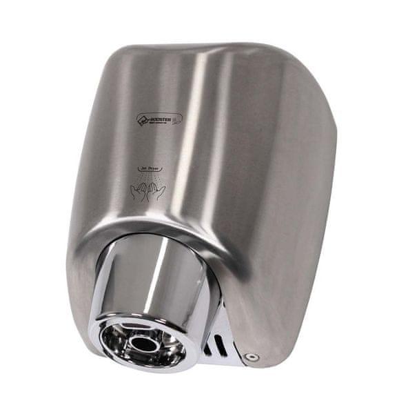 Jet Dryer Vysoušeč rukou BOOSTER - Stříbrný