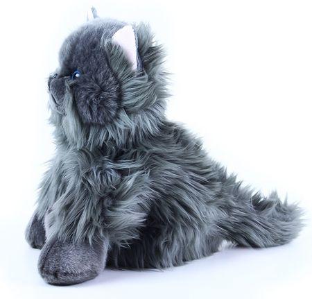 Rappa Plyšová kočka britská sedící 30 cm  4edee33837