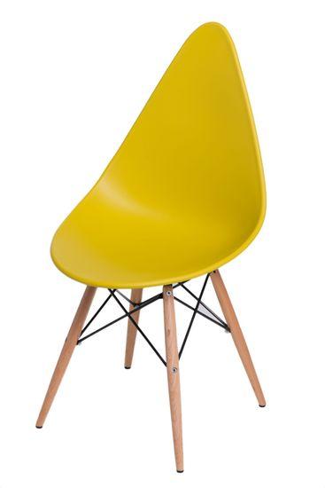 shumee Rush DSW szék olajzöld színben