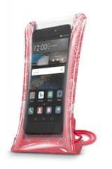 CellularLine torbica za telefon Voyager Splash, roza