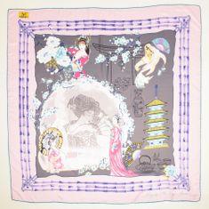 VERSACE 19.69 Geisa Dream világos rózsaszín női kendő