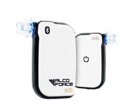 AlcoForce Profesionální alkoholtestr XS, Bluetooth, kalibrace na 1 rok zdarma
