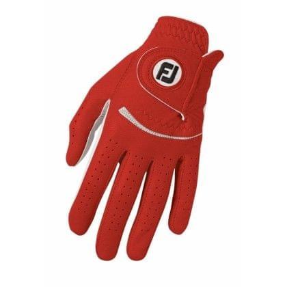 FootJoy Spectrum dámské Golf rukavice Červená Levá (pro praváky) M