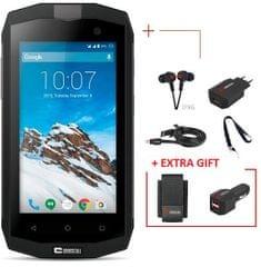 Crosscall mobilni telefon Trekker M1 LTE + Darilo: avtopolnilec in etui - odprta embalaža