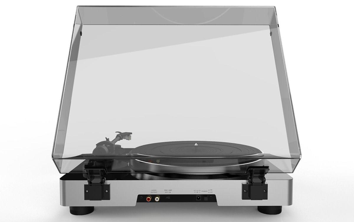 gramofon Elac Miracord 50 korekční předzesilovač rca kabel vestavěný phono předzesilovač riaa ekvalizace