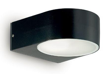 Ideal Lux Venkovní nástěnné svítidlo Iko AP1 nero 018539 černé