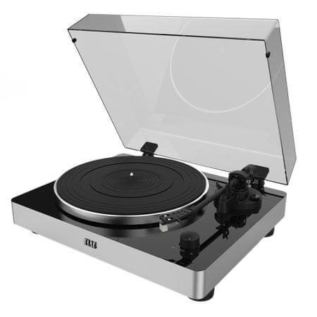 Elac Miracord 50, stříbrná/černá