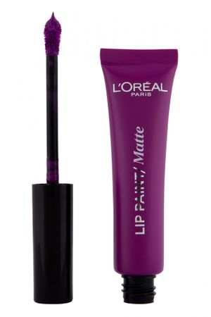 Loreal Paris Infallible Lip paint Matte 207 Wuthering Purple lip glos