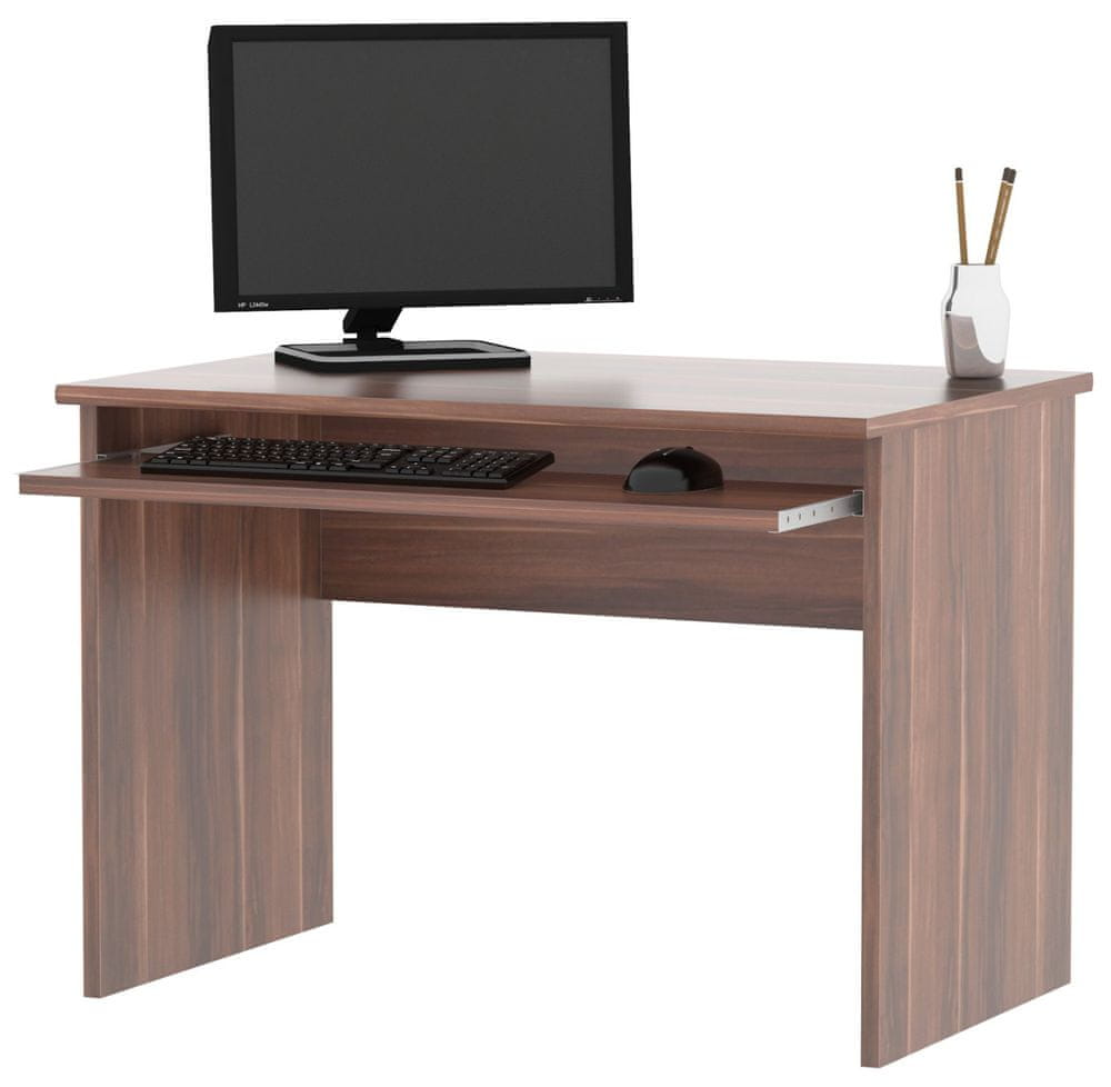 Kancelářský PC stůl GIANNI, švestka