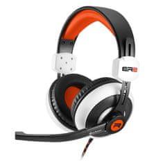 Sharkoon gaming slušalke Rush ER2, belo/oranžne