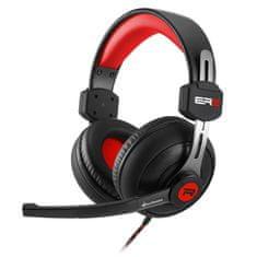 Sharkoon slušalke Rush ER2, črno/rdeče