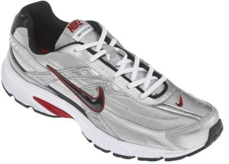 Nike moški tekaški čevlji Men'S Initiator Running Shoe, Metallic Silver/Black-White, 40