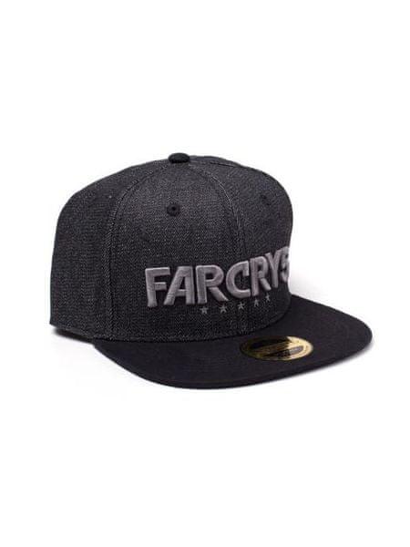 Kšiltovka Far Cry 5 - Black Denim Logo