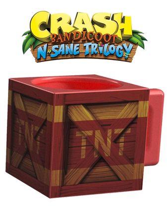 Hrnek Crash Bandicoot - TNT krabice
