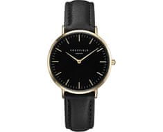 Rosefield The Tribeca Black-Black-Gold