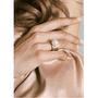 2 - Michael Kors Damski pierścionek z perełką MKJ6671710 (obwód 57 mm)