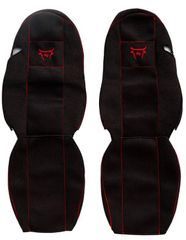 F-CORE Potahy na sedadla CS11 RD, černé