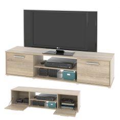 Televizní stolek ZIU01, dub sonoma