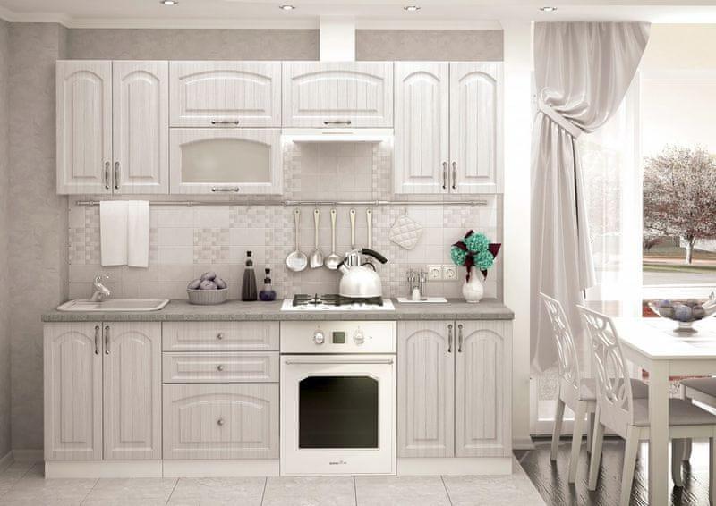 Kuchyně VIERONA 180/240, zlatý jasan