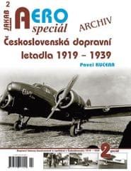 Kučera Pavel: AEROspeciál 1 - Československá dopravní letadla 1919-1939