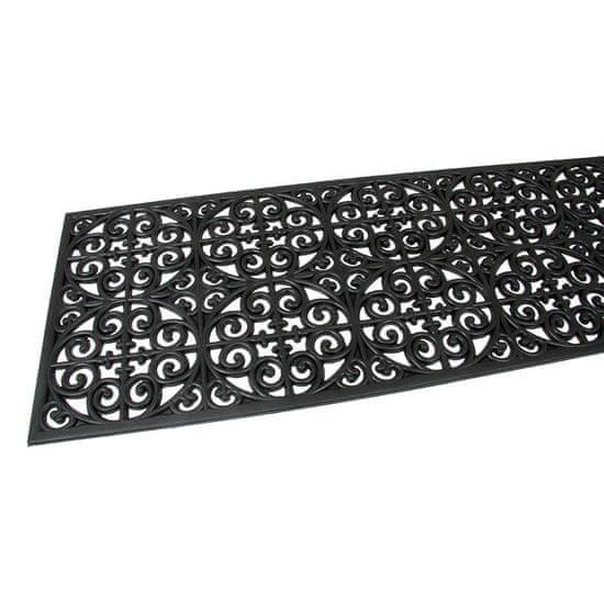 FLOMA Gumová vstupní rohož Circles - Deco - 120 x 45 x 0,9 cm