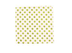 ROSENBULL Látkový kapesník- zelené puntíky