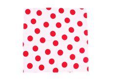 ROSENBULL Látkový kapesník- červené puntíky