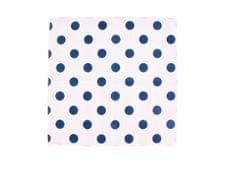 ROSENBULL Látkový kapesník- modré puntíky