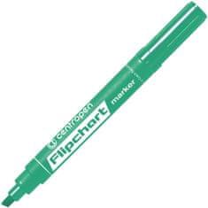 Centropen Značkovač 8560 Flipchart zelený