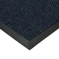 FLOMAT Modrá textilní zátěžová čistící vnitřní vstupní rohož Fiona, FLOMAT - 1,1 cm
