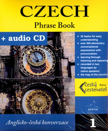 kolektiv autorů: Czech - Phrase Book + CD