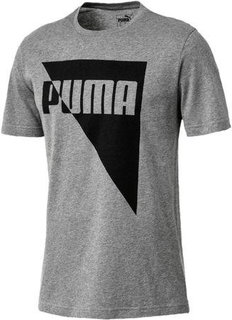 Puma Brand Graphic Medium Gray Heather M