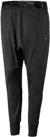 Puma Soft Sport Drapey Pants Black Heath XS