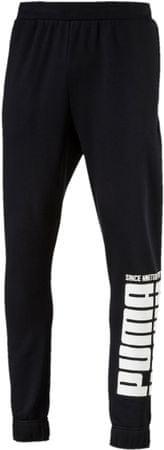 Puma moška trenirka Rebel Bold Pants Fl Cotton Black, črna, S