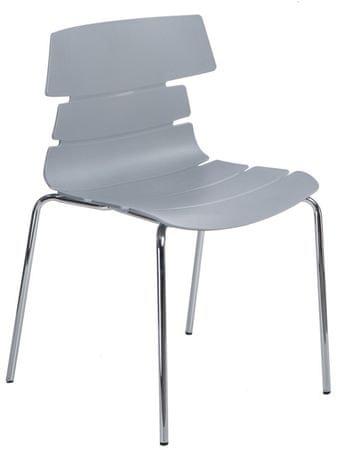 Mørtens Furniture Jídelní židle Stolen, šedá