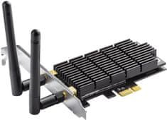 TP-LINK Archer T6E AC1300 Wifi Dual Band PCI Express Hálózati kártya