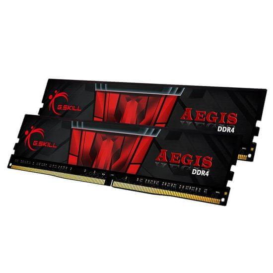 G.Skill pomnilnik Aegis 16GB (2x 8GB), 3000 MHz, DDR4 (F43000C16D-16GISB)