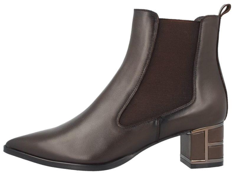 Roberto Botella dámská kotníčková obuv 39 hnědá