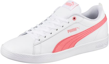 Puma Smash Wns V2 L White Shell Pin 36