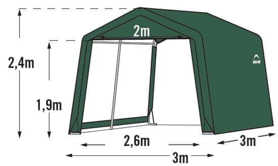ShelterLogic plachtový prístrešok 3,0 x 3,0 m - 70335EU