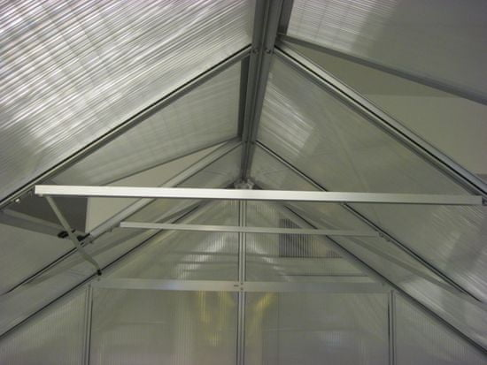 VITAVIA üvegház VITAVIA URANUS 9900 PC 6 mm ezüst színű