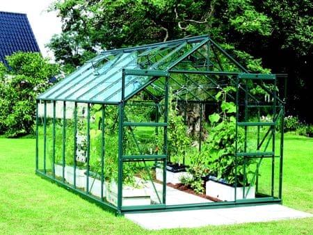 VITAVIA skleník VITAVIA URANUS 11500 číre sklo 3 mm zelený