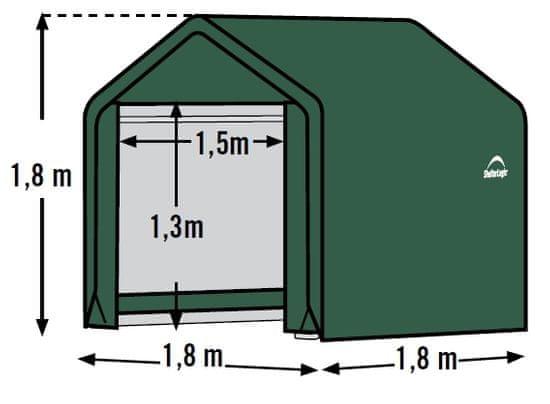 ShelterLogic plachtový prístrešok 1,8 x 1,8 m - 70417EU