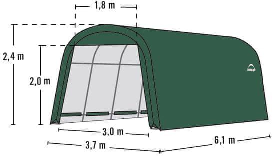ShelterLogic plachtová garáž 3,7 x 6,1 m - 62760EU