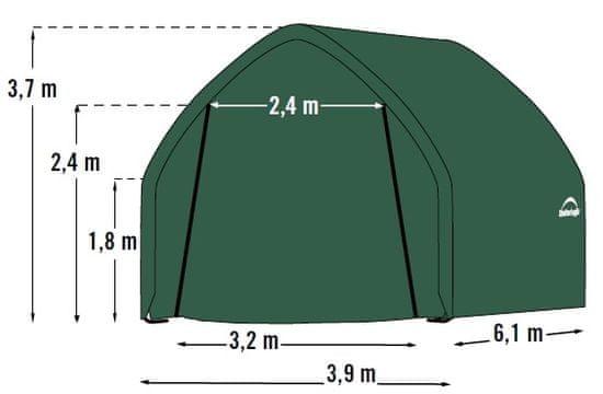 ShelterLogic plachtová garáž 3,9 x 6,1 m - 62730EU