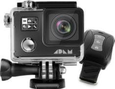 MAX ADAM A1 4K Black akčná kamera s dvoma displejmi + diaľkové ovládanie
