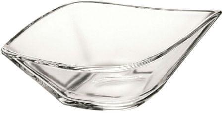Vidivi steklena skleda LEAF, 33 x 19 cm